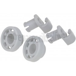 Vaatwasserwiel van bovenkorf Siemens/Bosch 424717
